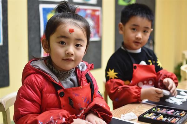 孩子学画画应该买些什么材料?
