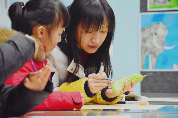 少儿美术培训需要培养的写生技巧和思维