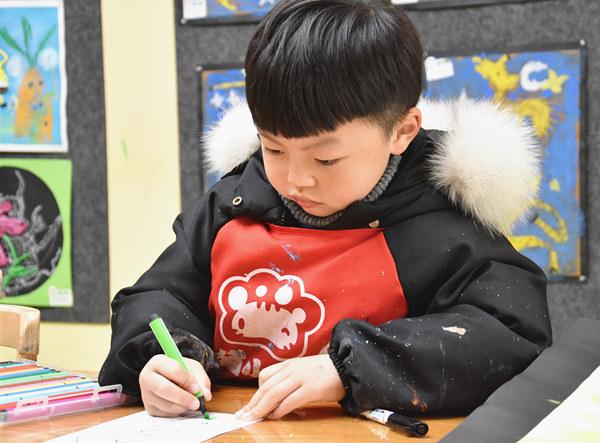 孩子学画画更需要培养想象力