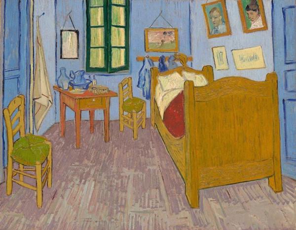 《在阿尔的卧室》